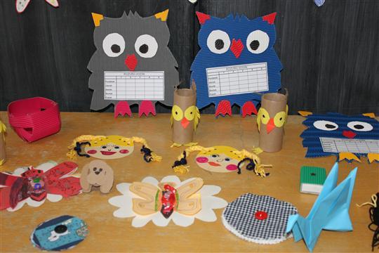 Darčeky pre budúcich prvákov vyrobené našimi deťmi  ZŠ Matky Alexie b87852e8016